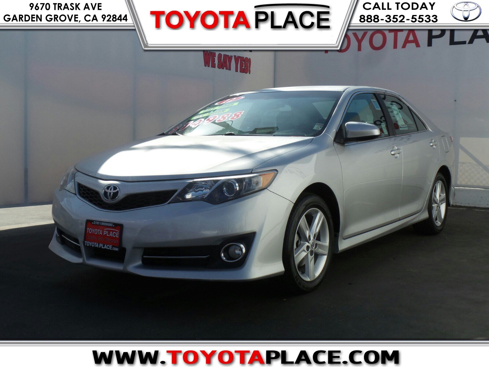 pre owned 2012 toyota camry se 4dr car in garden grove p147471 toyota place. Black Bedroom Furniture Sets. Home Design Ideas